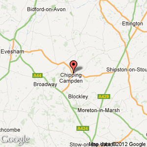 Chipping Campden map