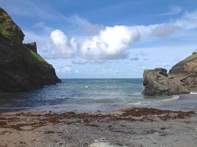Euro Tintagel beach 1246