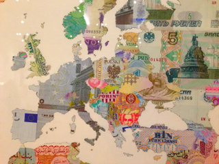 WEB Euro Currency Map 2415