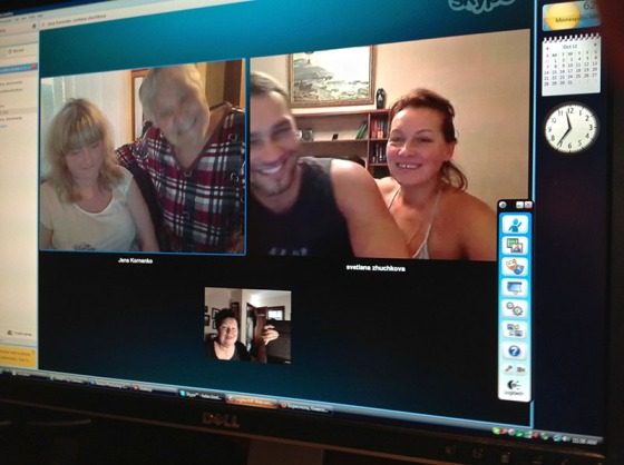WEB Skype with Ukies 0537
