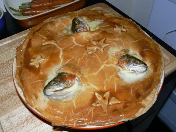 Stargazy Pie why