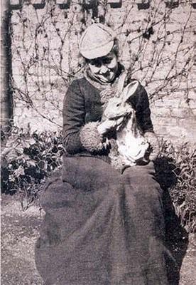 Beatrix with Bunny